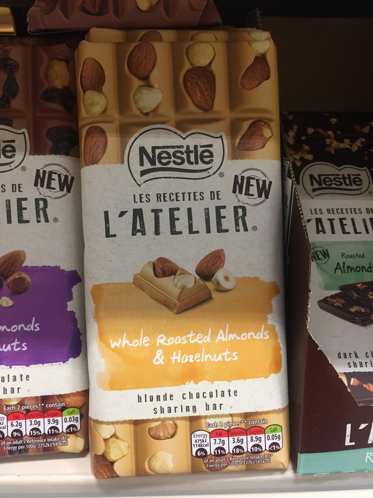 Nestle Latelier Chocolates Hazelnut Butterfinger Cups