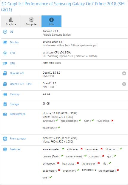 Spesifikasi dan Harga Samsung Galaxy On7 Prime 2018 Terbaru