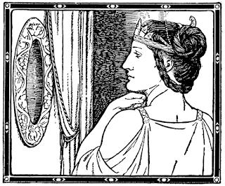specchio psicomanzia