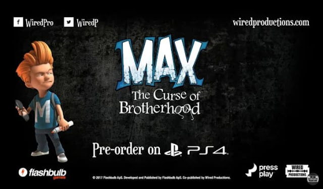 Max: The Curse of Brotherhood announced for PlayStation 4