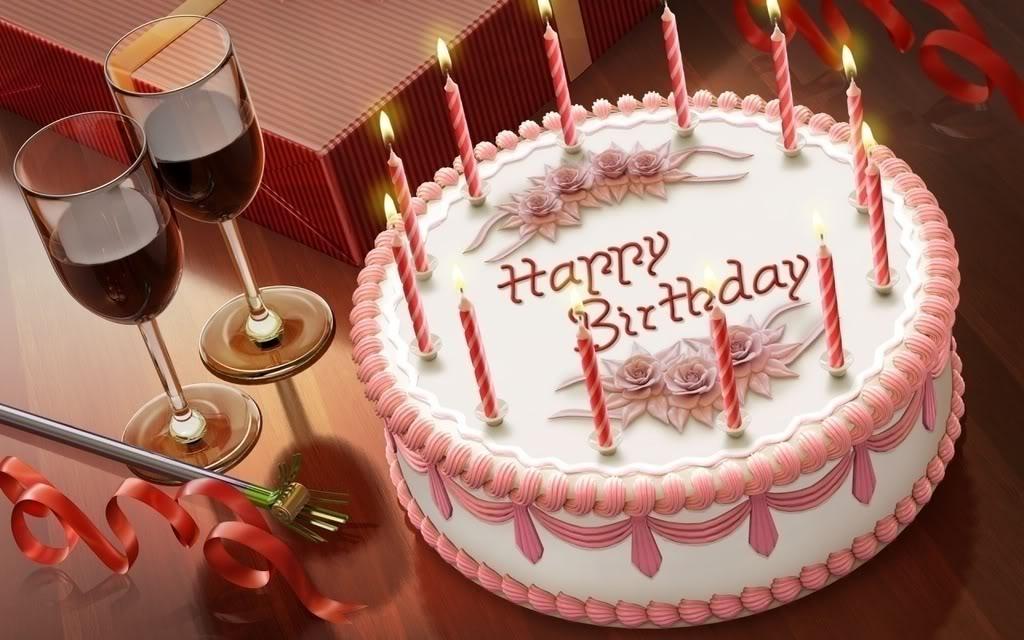 Birthday Cake Birthday Wishes Chees Cakes Creamy
