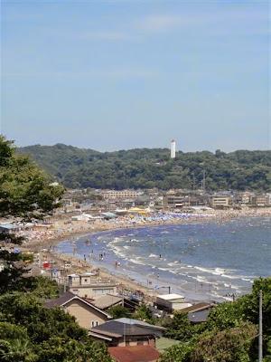 夏の海:鎌倉成就院