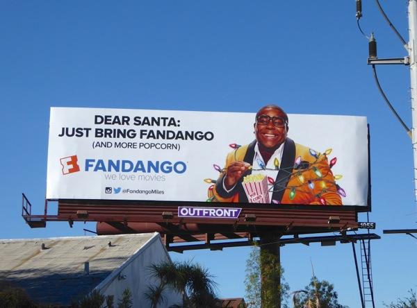 Dear Santa Just bring Fandango Miles Mouvay billboard