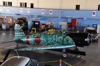 WW II Japanese fighter plane