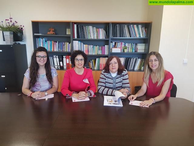 El Cabildo respalda la acción de la asociación Ámate con las pacientes de cáncer de mama de La Palma