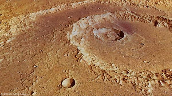 اكتشاف براكين على سطح المريخ 7657123422865240576.