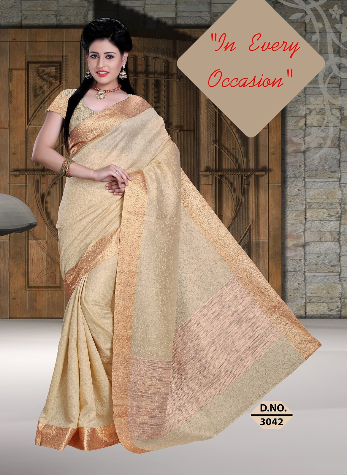 Angle Vol-3- Stylish  Desaigner Latest Collection of Art silk Sarees