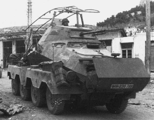 Guerra abierta: Sd.Kfz 232