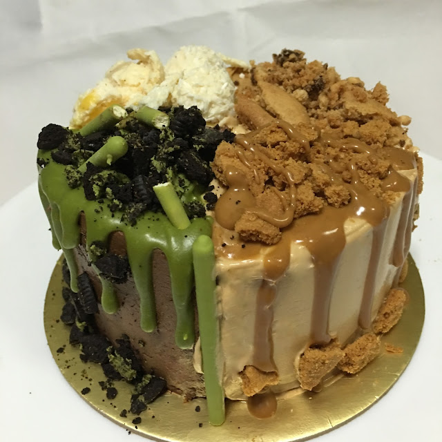 ... Peanut Butter Matcha Chocolate Oreo Salted Egg Yolk Earl Grey cake