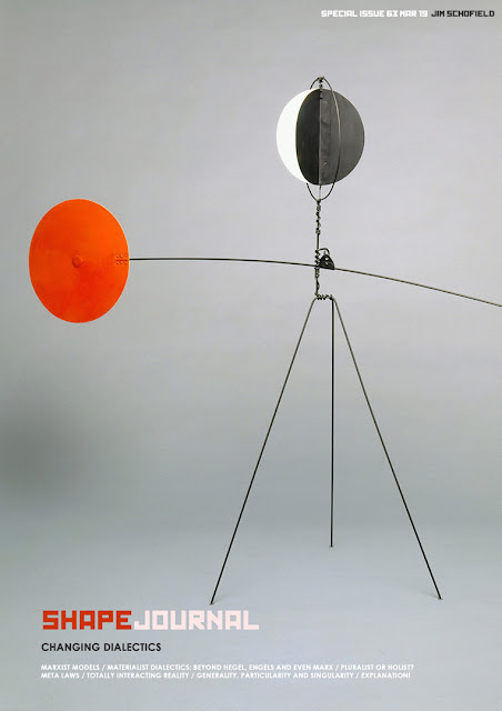 Cover of SHAPE Journal Special Issue 63 art by Alexander Calder