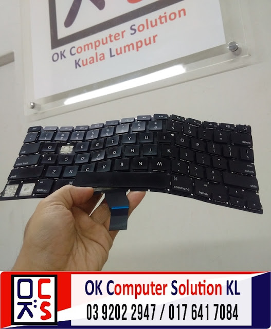 [SOLVED] KEYBOARD MAC AIR A1369 | REPAIR MAC TAMAN CONNAUGHT 1