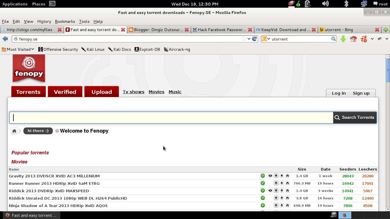 Fenopy se download.