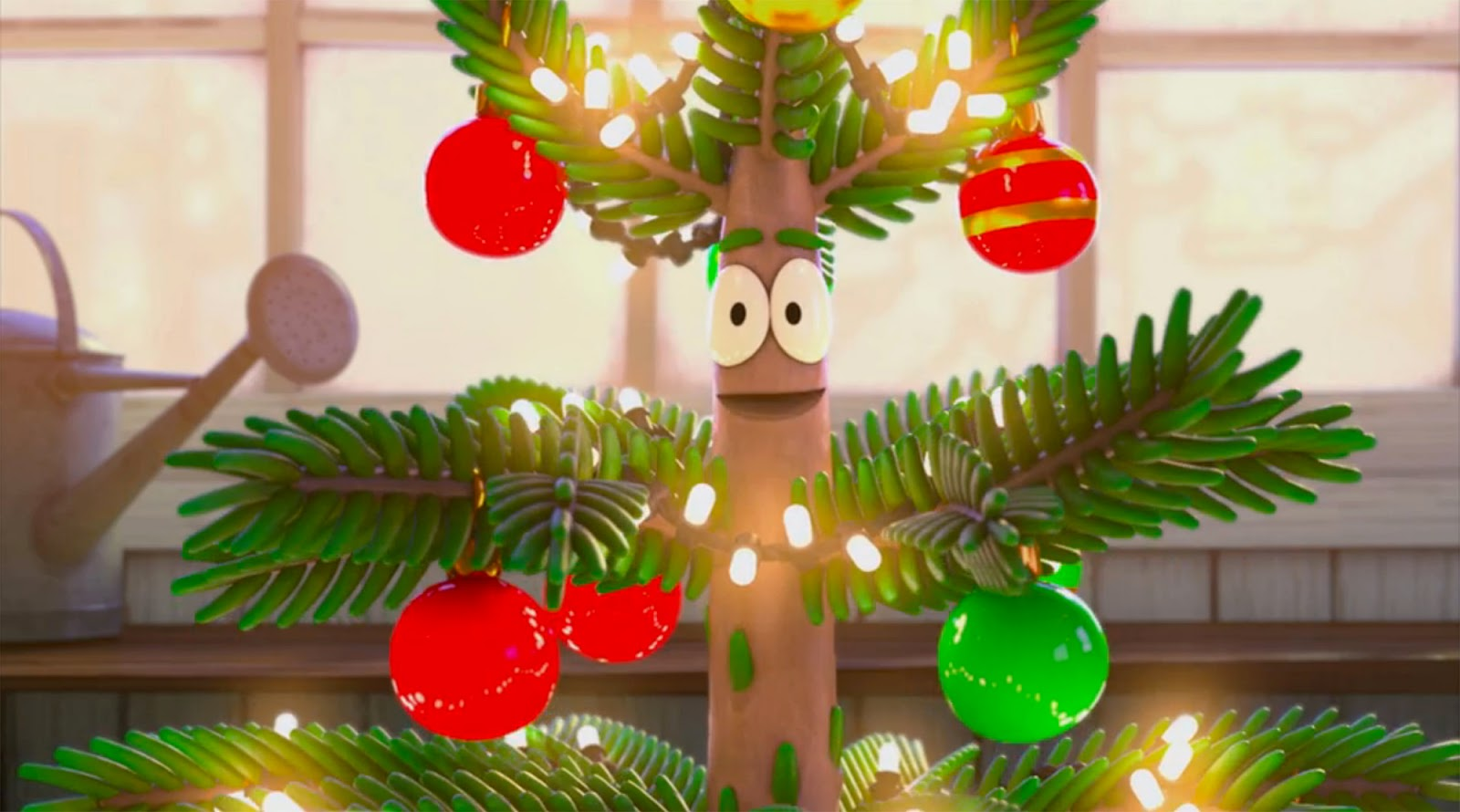 NickALive!: A Small Christmas Tree Goes On A Big Adventure
