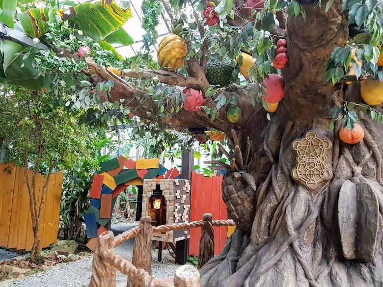 妖精世界長滿各式水果的大樹,裏頭藏著女王最喜歡哪種水果的密碼