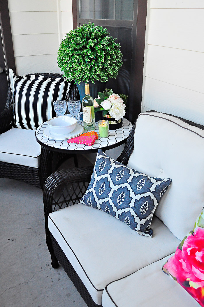 Apartment Patio Outdoor Decor Ideas | Monica Wants It on Apartment Backyard Patio Ideas id=18292