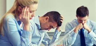pressão no ambiente de trabalho