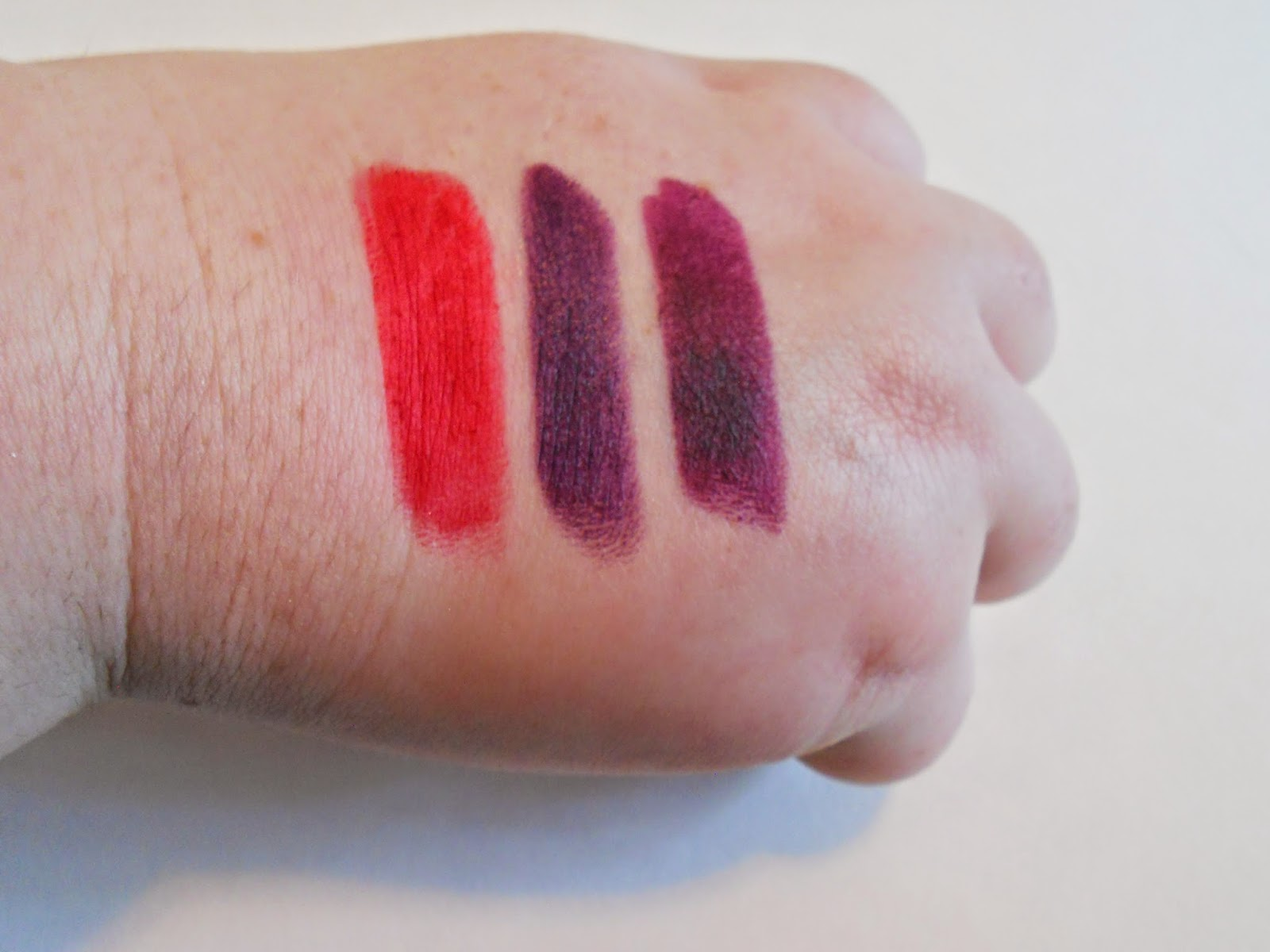 MAC Retro Matte Lipstick Swatches
