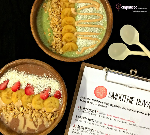 Smoothie Bowls from Bliss Bowls