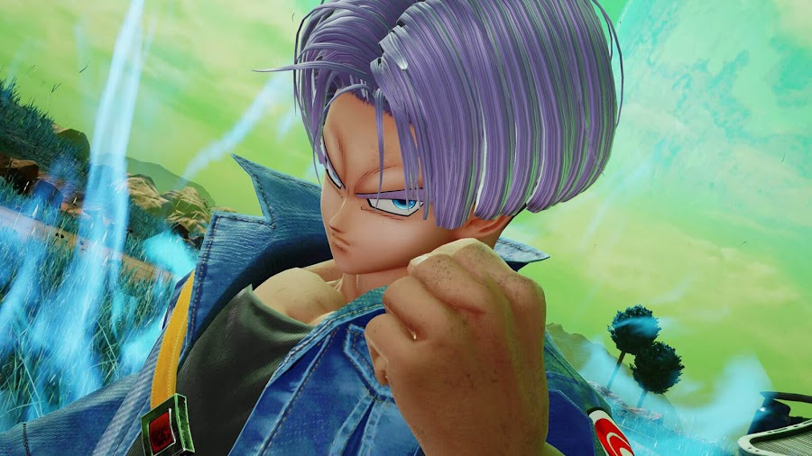 jump force bandai namco trunks dragon ball