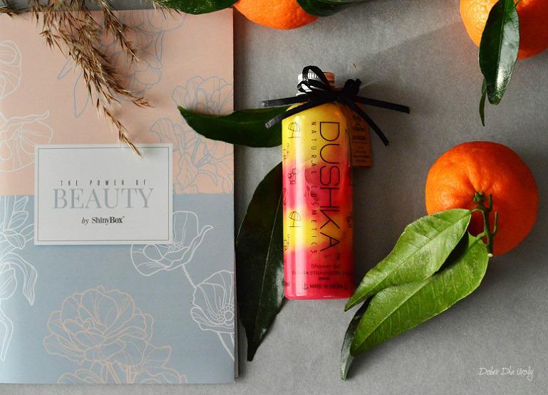 ShinyBox The Power of Beauty - Dushka Żel pod prysznic Bananowo-Truskawkowe Smoothie