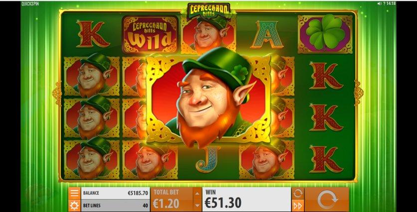 Jucat acum Leprechaun Hills Slot Online