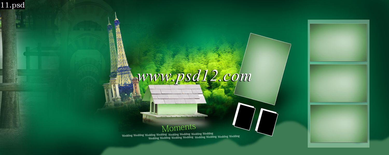 48 Page Karizma Album Design 20 Photoshop Backgrounds