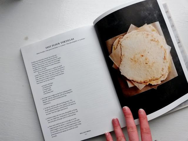 Flour tortilla recipe book