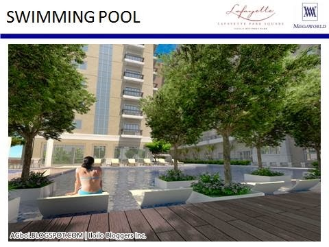 pool Lafayette Park Square 14 Storey Mediterranean Inspired Luxury Residence iloilo business park megaworld iloilo city agboi cafe ilonggo