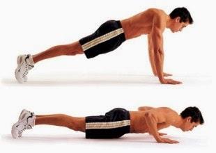 Cara melaksanakan push up sempurna