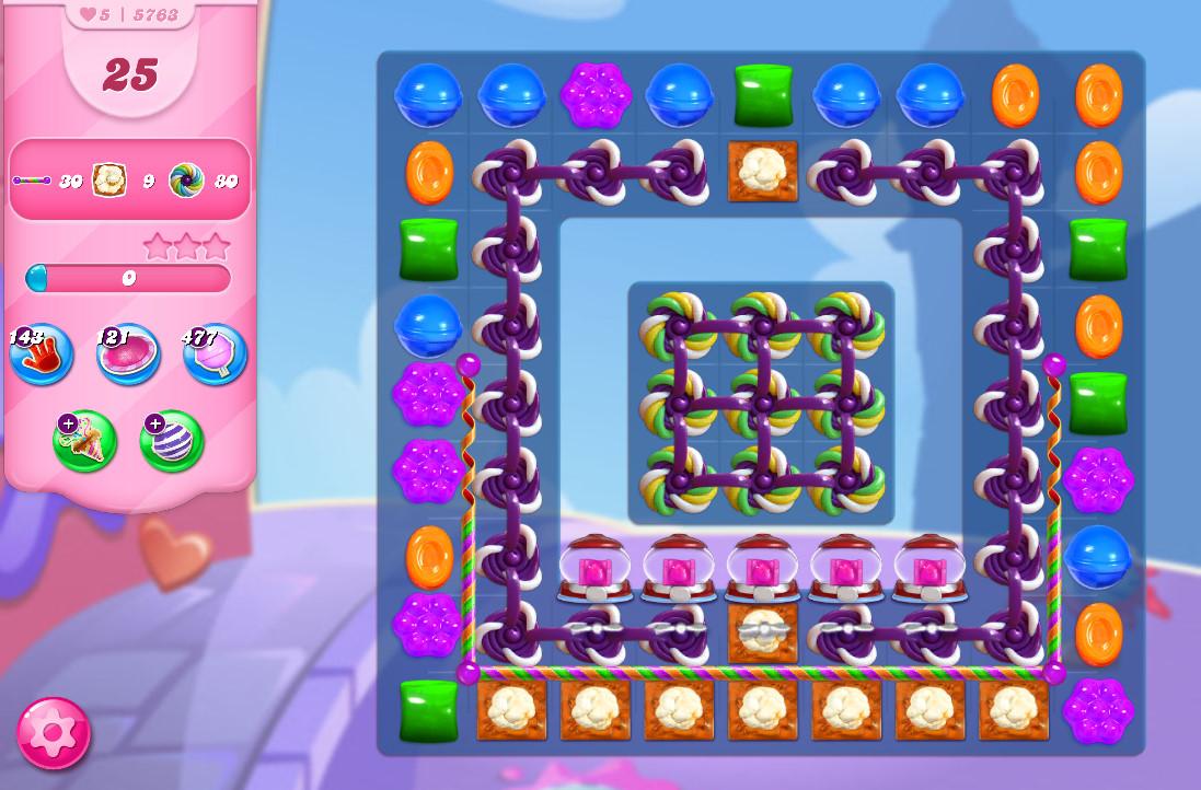 Candy Crush Saga level 5763