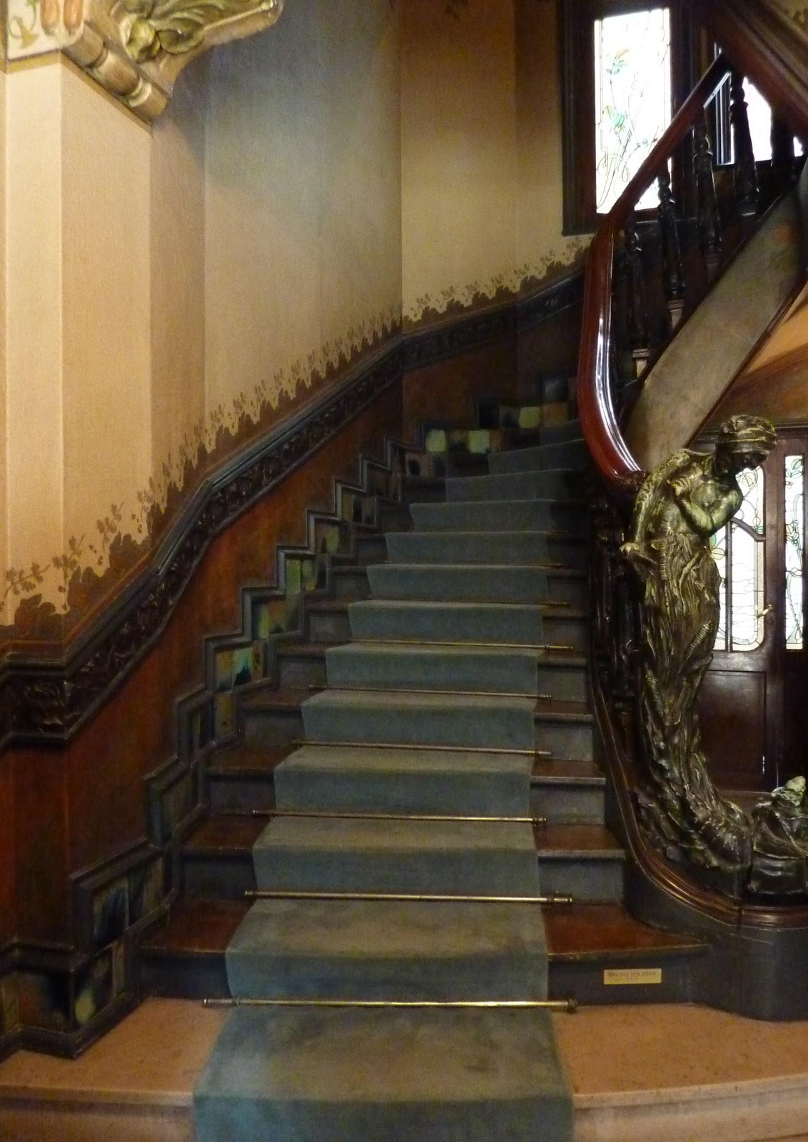 Art Deco Nouveau: 1000+ Images About Art Nouveau Stair Runners On Pinterest