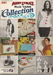 Rug Yarn Collection Knit Crochet Pattern Book