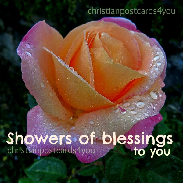 Blessings on this nice day, by Mery Bracho, christian free card image for facebook friends