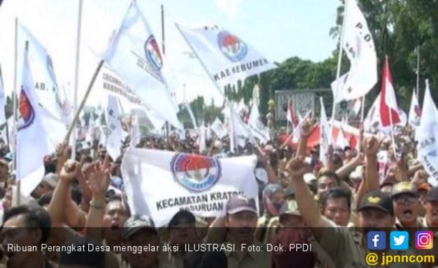 Tagih Janji Jokowi, Ribuan Perangkat Desa Akan Kepung Istana