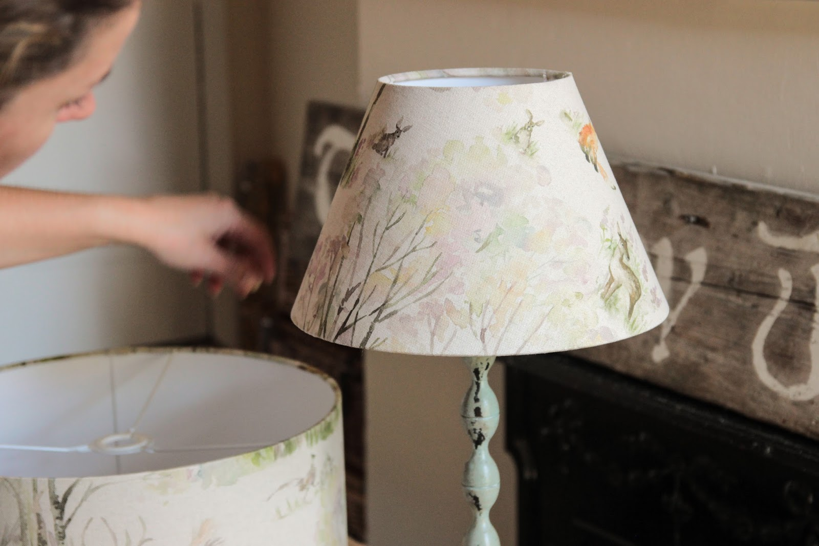 A handmade cottage how to make your own lampshade Make your own shade house