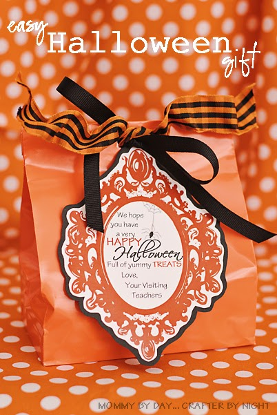 mommy by day crafter by night easy halloween gift for visiting teaching