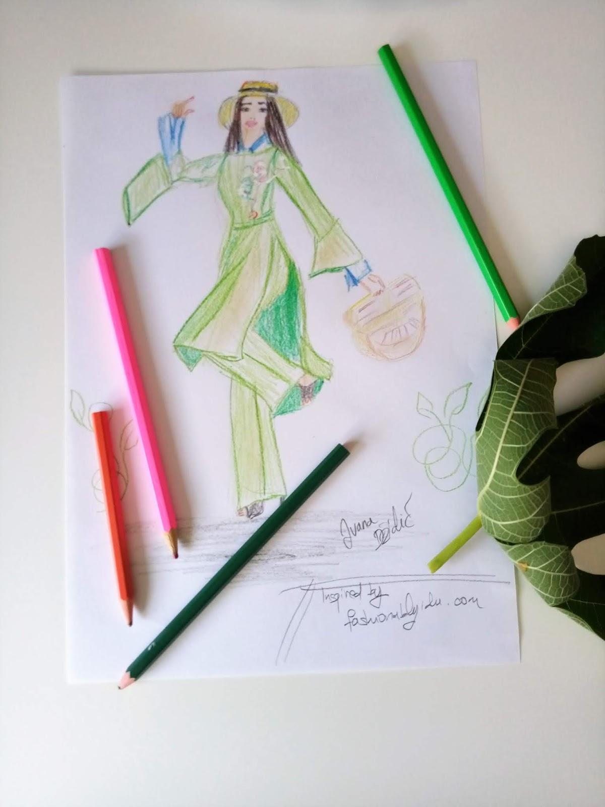 #fashionsketch #modaodaradosti