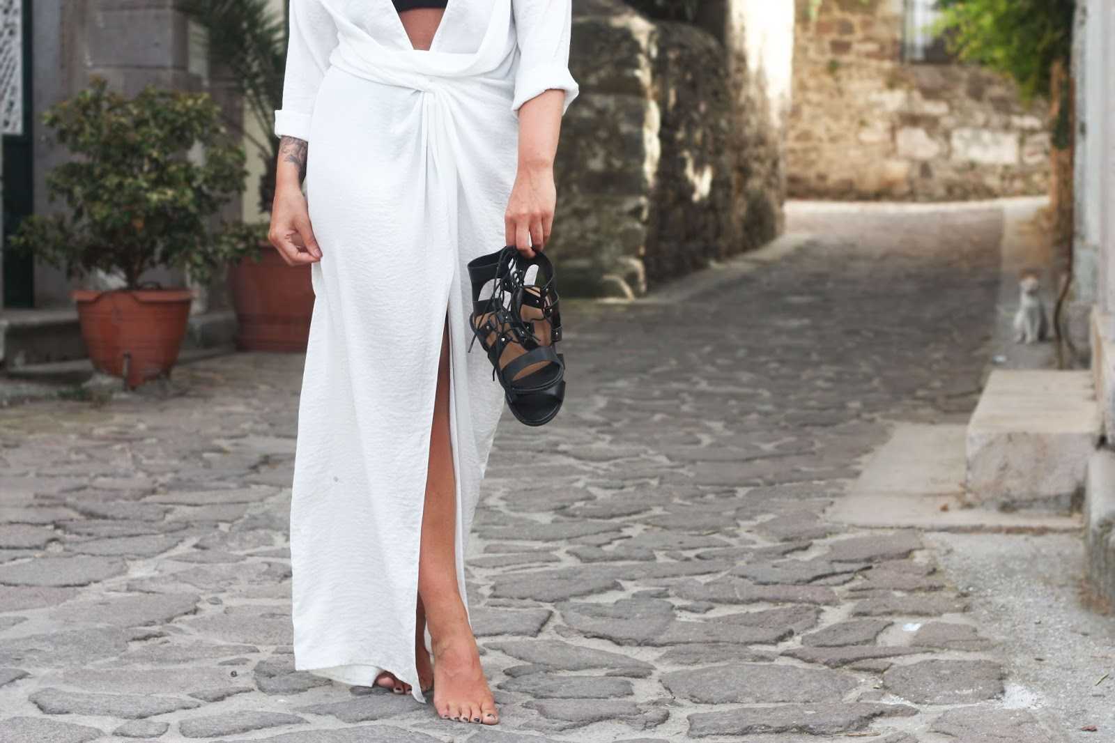 Knot love maxi dress