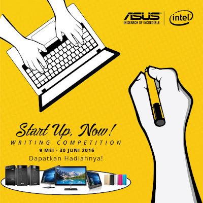 """Lomba blog """"Ceritakan mengenai impian bisnismu""""  Berhadiah Produk terbaik dari Asus"""