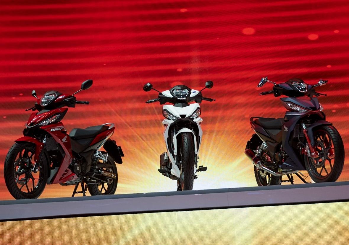 Honda Vietnam resmi merilis Honda Winner 150 untuk menantang MX King 150 . . inikah Honda Supra X150 ?