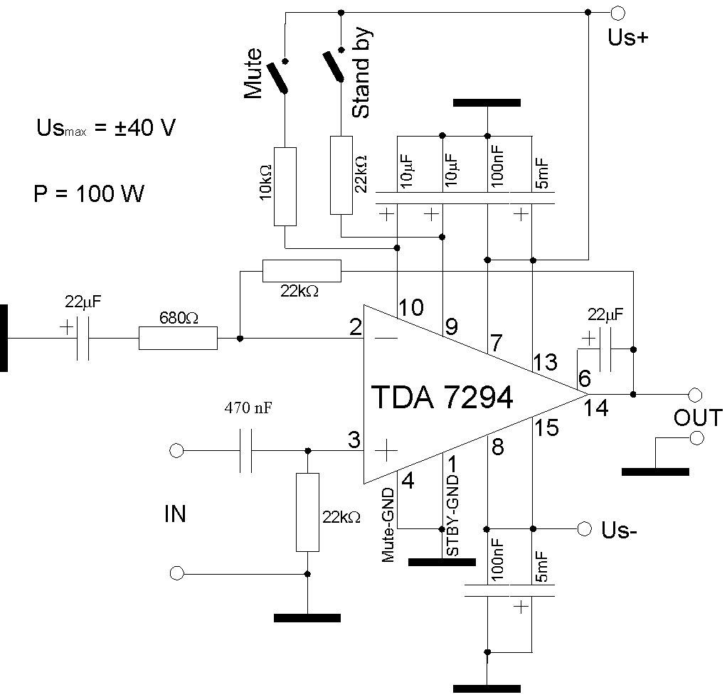 DIY Audio by Mr. Suky.: TDA7294 Power Amp 100w chip amp DIY