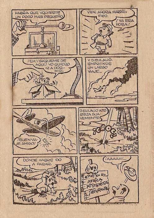 Don Eulalio, Africa Misteriosa,  Liliput nº 10, Símbolo