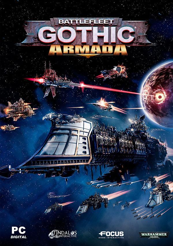 Скачать BATTLEFLEET GOTHIC: ARMADA [V 1.7.9962 + 2 DLC] (2016) PC торрент