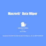Original Macrorit Data Wiper 4.1.4 Professional Unlimited Edition Lifetime License