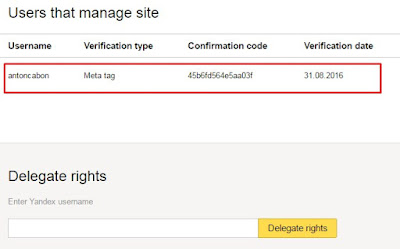Cara Verifikasi Domain di Yandex Webmaster