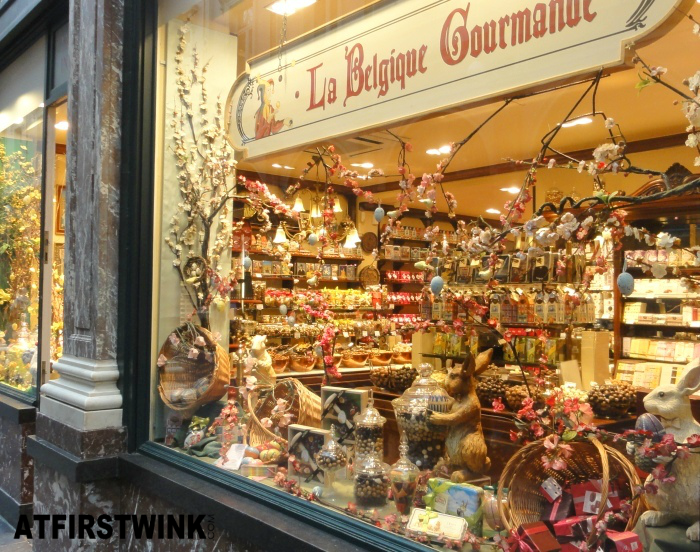 La Belgique Gourmande store in Les Galeries Royales Saint Hubert, Brussels