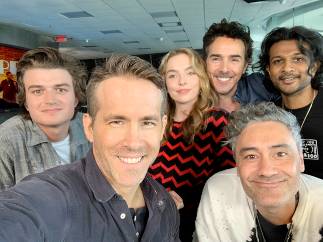 Free Guy Starring Ryan Reynolds Taika Waititi Begins Production