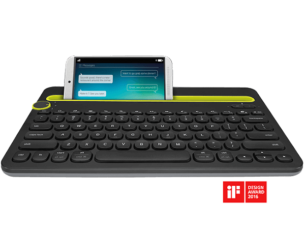 Logitech Bluetooth keyboard K480 - Tablet keyboard untuk update blog