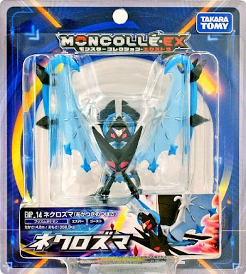 Necrozma Dawn Wings figure hyper size Takara Tomy MONCOLLE EX EHP 14 package