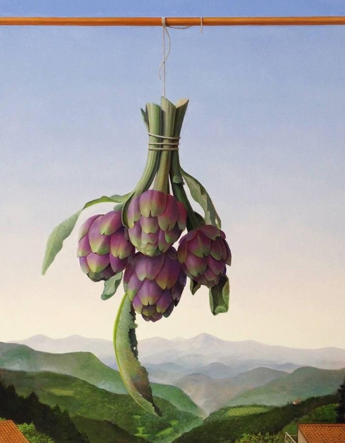 Мастер пейзажа и натюрморта. James Aponovich
